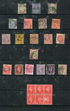 Postage Stamps - Great Britain (PERFINS) - Lot 6-028