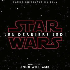 STAR WARS : EPISODE 8 - LES DERNIERS JEDI (MUSIQUE FILM) - JOHN WILLIAMS (CD)