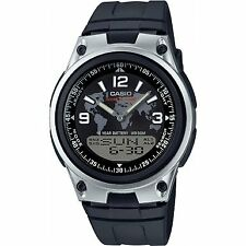 Casio Men's Analogue/Digital Quartz Watch with Resin Strap AW-80-1A2VES