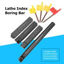 4pcs 16mm Lathe Index Boring Bar Turning Tool Holder Toolholding CCMT  ! !