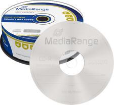 25 MediaRange CD-R 800Mb 90 Min 48x Rohlinge Spindel