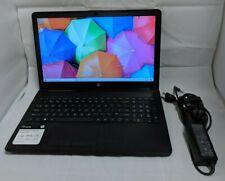 HP 15-db0011dx (AMD A6-9225 R4 2.60ghz 4GB Ram 1TB) Windows 10 Notebook - Black