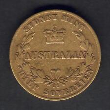 Australia.  1864 Sydney Mint - Half Sovereign..  aF/Fine - Trace Lustre