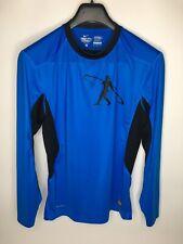 Men's Nike Pro Combat Dri-Fit Fitted Crew Pullover Shirt •Size M *Euc