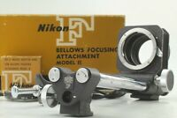 [MINT] Nikon F Bellows Focusing Attachment Model II w/AR-4 BR-4 BR-3 From Japan