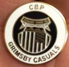 GRIMSBY TOWN CBP CASUALS HOOLIGAN  ENAMEL PIN BADGE