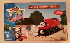 Thomas wooden railway rare James goes buzz buzz set New nib 1999