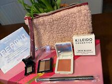 Kaleido Cosmetics Skin Blush Primadonna Blush & 2 Other Mini & Brush & Ipsy Bag