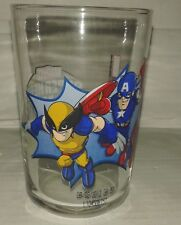 verre marvel wolverine capitaine america spiderman BD jeu video games film movie