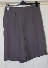 Handmade Mink Brown Shorts Size 14