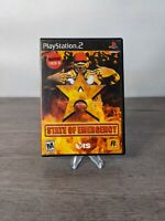 State of Emergency (Sony PlayStation 2, 2003) PS2 Complete Free Shipping