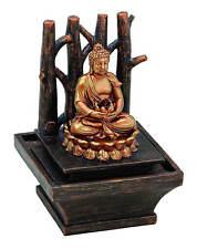Zimmerbrunnen mit einem Buddha 21 Cm hoch moderne Tischdeko