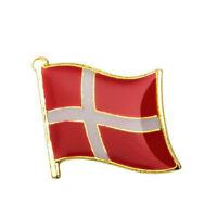 DENMARK FLAG Enamel Pin Badge Lapel Brooch Fashion Gift Danish PN45