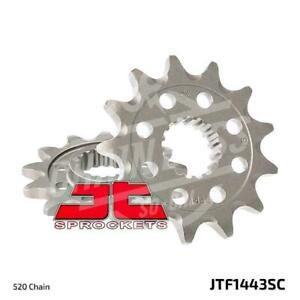 JT Sprockets 520 Front Sprocket Self Cleaning Steel 14T Natural JTF1443.14SC