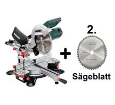 SET KGS 254 M Kapp- und Gehrungssäge + 2. Sägeblatt (60254000) Metabo
