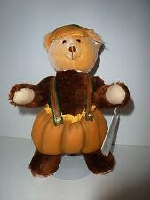 11 in., Classic/Jointed Teddy, Halloween Steiff Pumpkin Patch Bear