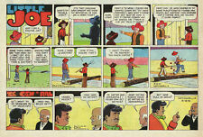 Little Joe by Leffingwell - Western - color Sunday comic page - June 18, 1961