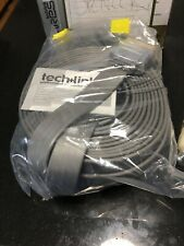 Tech Link scartflex 10m Flat Ribbon Scart Lead