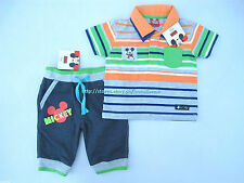 40% OFF!LICENSED DISNEY MICKEY MOUSE SHIRT JOGGER PANTS SET 12 MOS BNWT US$18.99