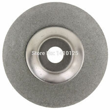 "4""inch Diamond Coated Grinding Disc Wheel For Angle Grinder Grit 150 Arbor Hole"