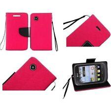 Fundas con tapa color principal rosa para teléfonos móviles y PDAs LG