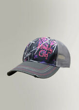 Women's Muddy Girl Camo Pink Mesh Back Basetball Hat
