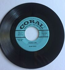 Alan Dale, Mister Moon, Coral#61598, Promo 45 Record, 1956