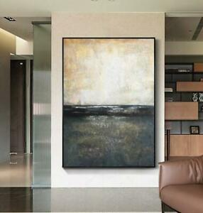 """Modern Decor art Hand-painted abstract oil painting on canvas Unframed 36"""""""
