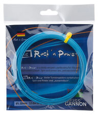Weiss Cannon Blue Rock 'N Power Tennis String Set