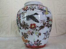 Vintage Kutani Tea Caddy, Inner Lid Only, Poss. Meiji Period