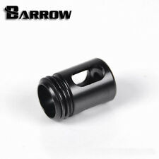 "Barrow G1/4"" Matte Black Anti Cyclone Adapter Fitting 3 Hole Watercooling - 120"
