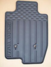2007 2008 2009 2010 FORD EXPLORER SPORT TRAC ALL WEATHER FLOOR MATS BLACK 4 PC