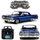 Redcat SixtyFour 1964 Chevrolet Impala SS Hopping Lowrider RTR Blue RER14407