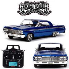 Redcat SixtyFour 1964 Chevrolet Impala SS Hopping Lowrider Listo Para Correr Azul RER14407