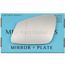 non repliable POUR BMW Série 5 95-03 Côté Gauche Plat Electric Wing Mirror Glass