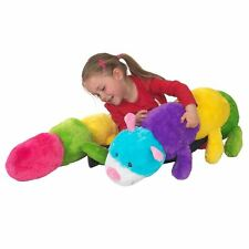 Cleo the Caterpillar -190cm plush toy - Huge colourful teddy