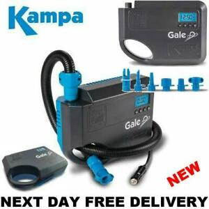 New 2022 Model Kampa Gale Porch 12v Electric Rally Air Awning Pump 12 volt