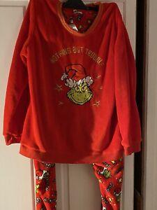 Grinch Pyjamas Primark Xl 22