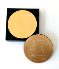 NASA Voyager Golden Record - Set of four coasters, laser engraved