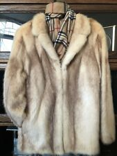 Vintage Haney/ Blond  Mink Fur Jacket Coat Sz Med./ L