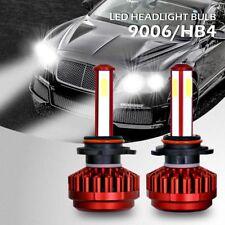 2 x 9006 HB4 160W 16000LM 4-Side LED Headlight Kit Bulbs Low Beam 6000K White
