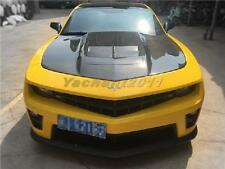 Carbon Bonnet Fit For 10-13 Chevrolet Camaro V6&V8 ZL1-Style Hood BumbleBee