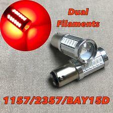 Brake Stop Tail Light 1157 33 SMD P21/5W BAY15D RED LED Bulb For Chrysler Jeep