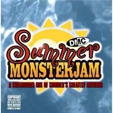 DMC Summer Monsterjam Track Continuous Megamix Mixed DJ CD