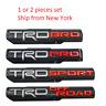 2X TRD PRO/OFF ROAD/BRO/SPORT Door Emblem Sticker Badge Fits Toyota Tacoma