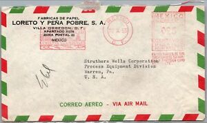 GP GOLDPATH: MEXICO COVER 1953 AIR MAIL _CV595_P08