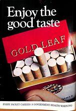 Original Vintage 1970s Gold Leaf Advert - Shooting Times Magazine 23 Sep 1972
