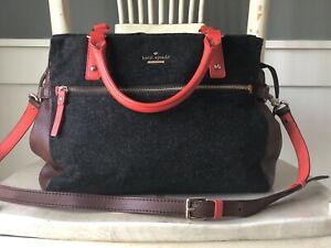 KATE SPADE New York Cobble Hill Little Murphy Wool Satchel Shoulder Handbag $498