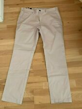 BNWT Moss London Beige Chinos 36/33L Trousers Skinny Fit RRP £40.00 Brand new