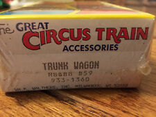Walthers American Circus Series Accessories Trunk Wagon 933 1360 New & Sealed